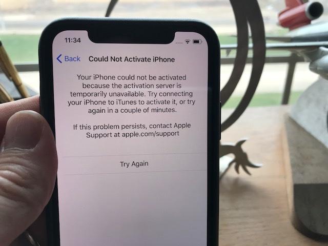 iPhone X激活量过多造成运营商服务器崩溃