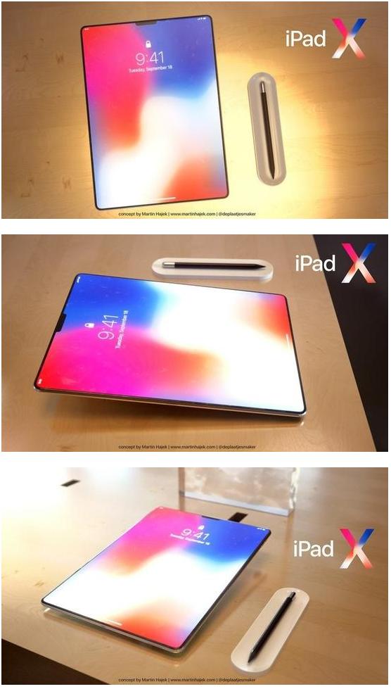 把iPhone X的设计放到iPad上 这概念怎样?