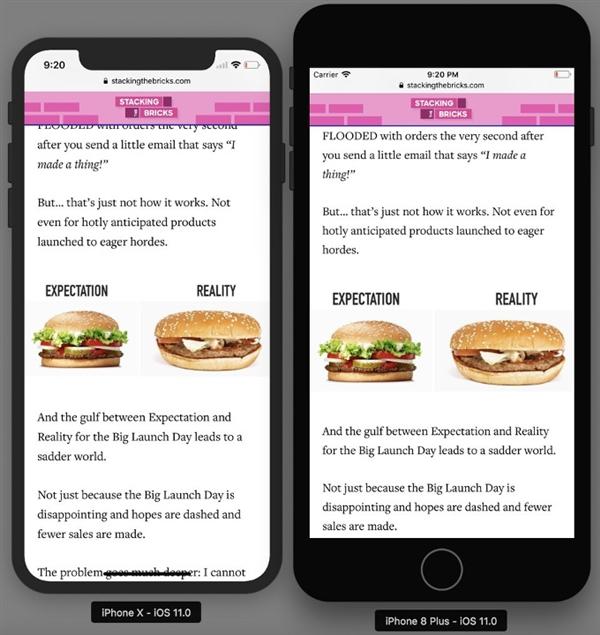 苹果强力优化iPhone X:浏览网页避开突兀刘海