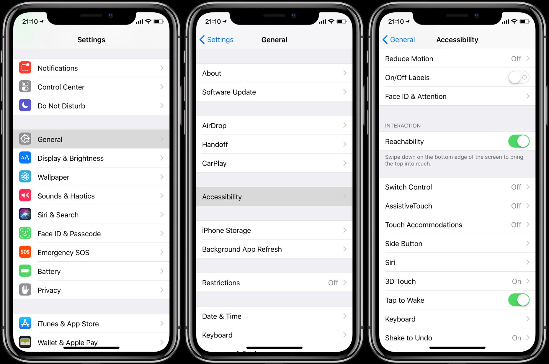 iPhoneX如何使用单手模式?