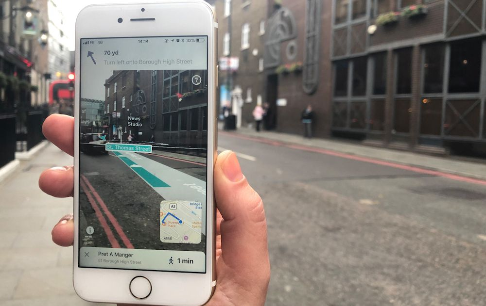 苹果ARKit+导航 我们的未来出行随AR改变
