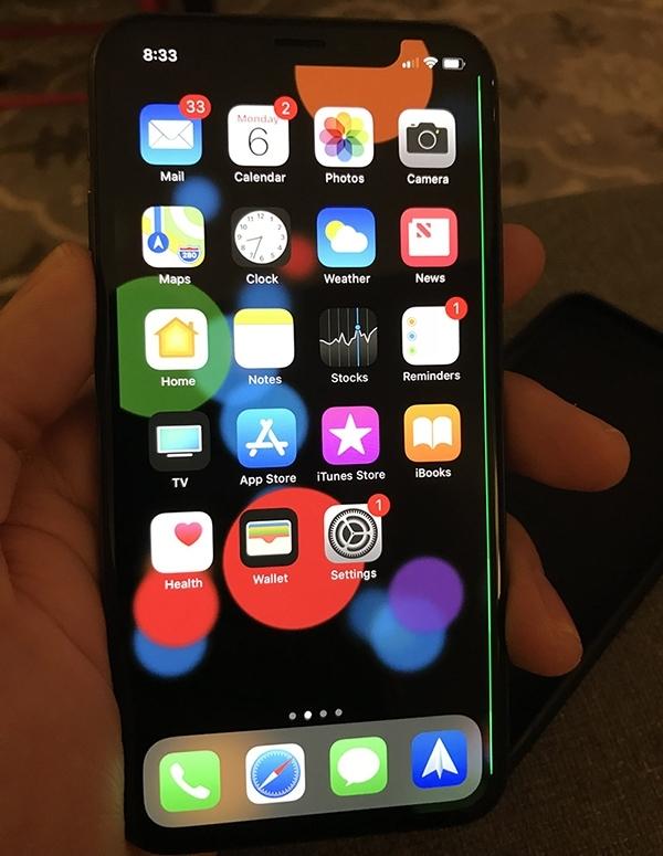 """万元买iPhone X遭遇""""绿线门""""    苹果高端形象还在吗"""