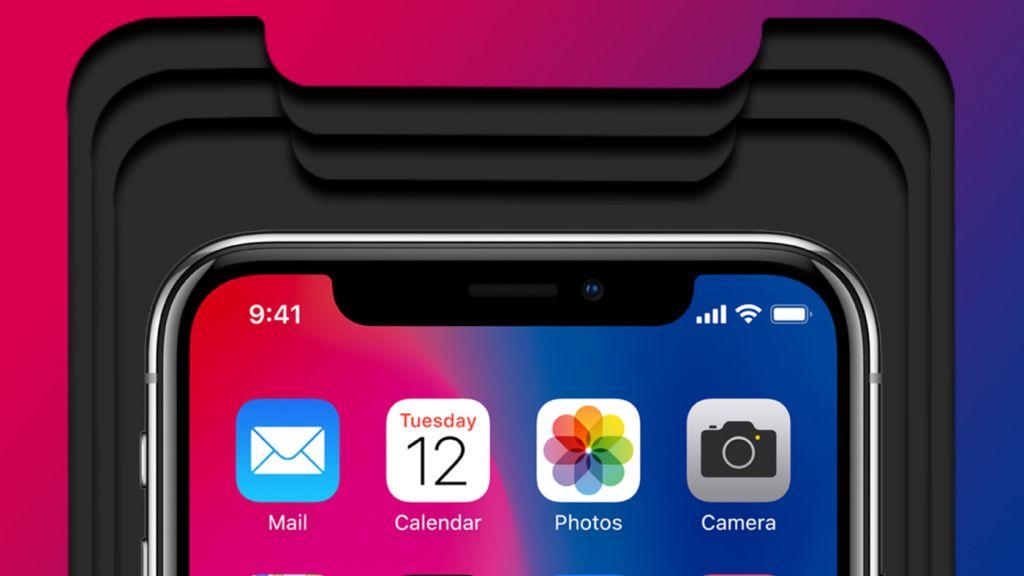 不再想隐藏,一起来慢慢适应iPhone X圆角吧!