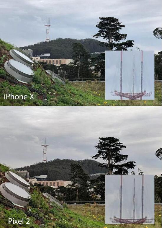 Pixel 2拍照对决iPhone X 谁说只有双摄才能为所欲为