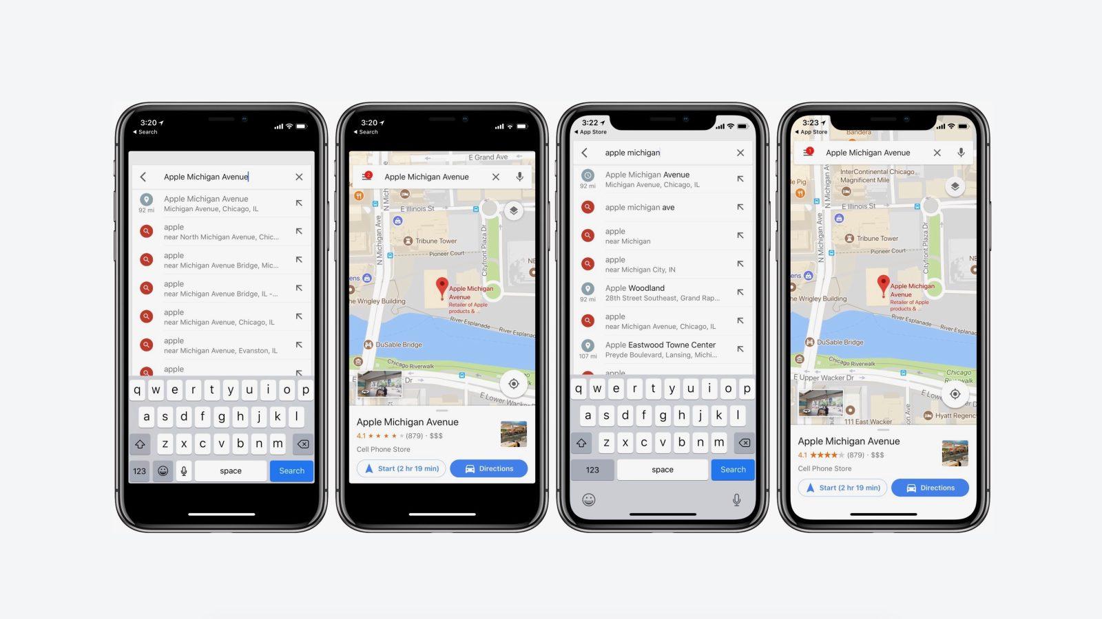 iOS版谷歌地图更新终于可以支持iPhone X