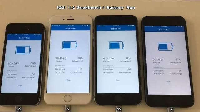 iOS11.2正式版的耗电情况测试:结果差强人意