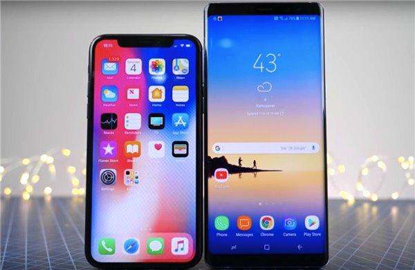 """国外安卓用户评这样评价iPhone X:""""刘海""""让其独一无二"""
