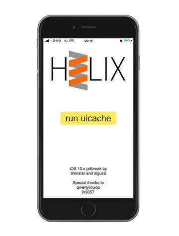 32位设备iOS 10-10.3.x越狱工具h3lix发布