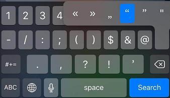 iPhone输入法隐藏技巧汇总