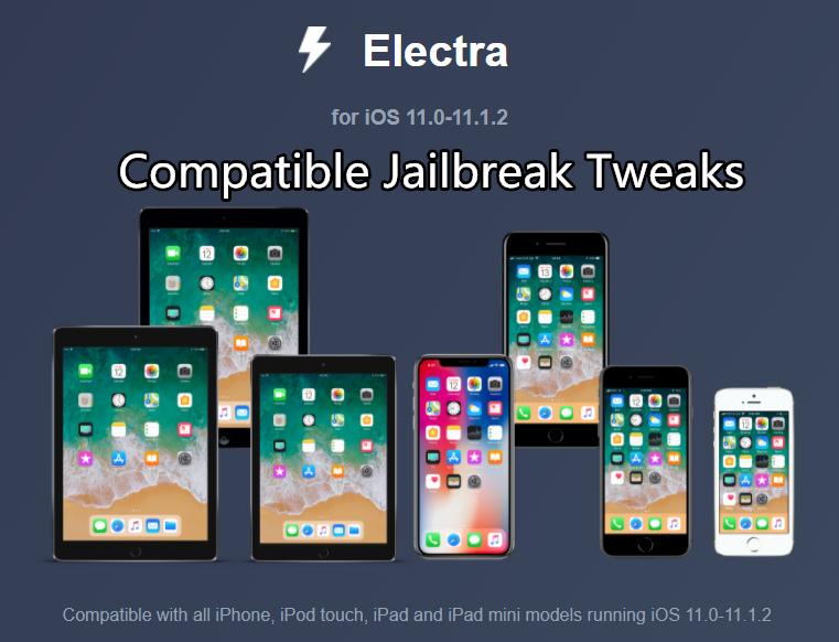 iOS11~11.1.2越狱工具Electra [主题]&[插件] 详细安装教程