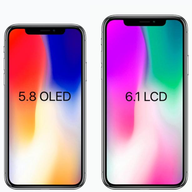 6.1英寸iPhone曝光:LCD全面屏卖4400元?