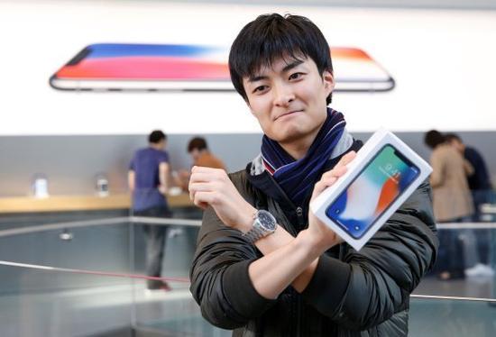 苹果iPhone X销量并未复制iPhone 6辉煌