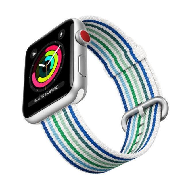 春色撩人 Apple Watch春季新表带开始预订