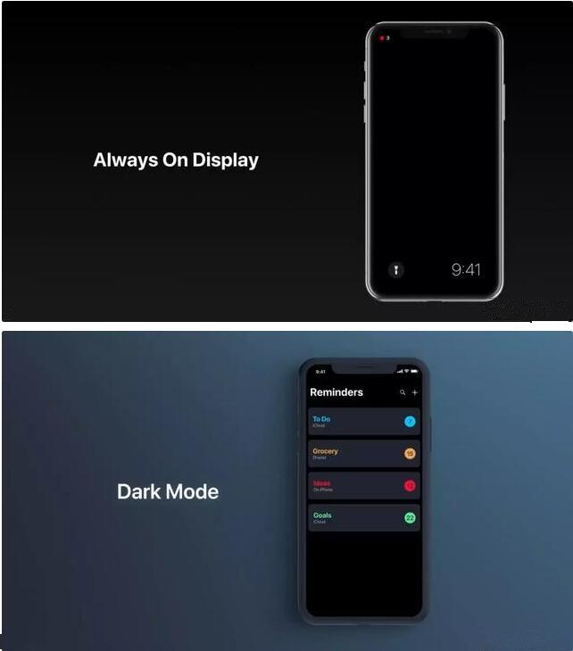 iOS 12 概念图,纯暗黑模式亮了