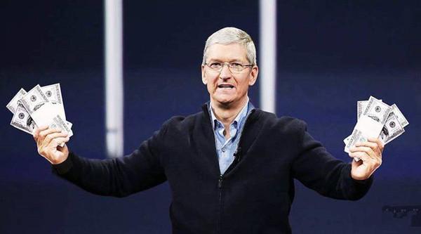 苹果是最有钱的企业 但亿万富翁也没几个