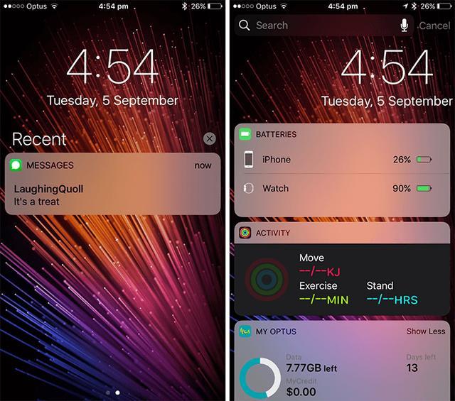 iOS10系统不升级也能轻松体验iOS11通知中心
