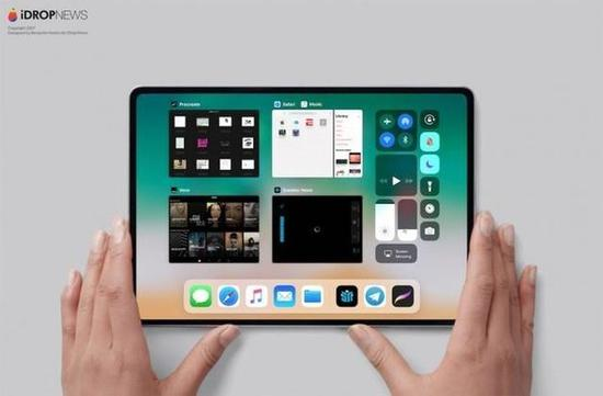iPad Pro 2018版曝光 无刘海窄边全面屏