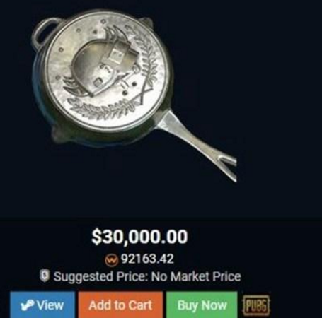 绝地求生官方关闭个人交易!只因玩家皮肤卖8万赚取暴利