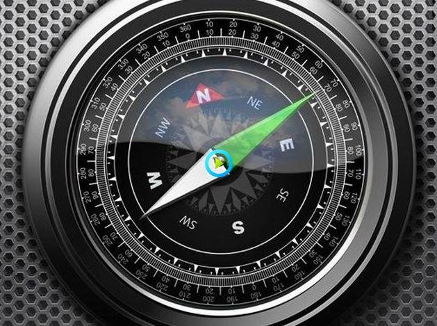 iPhone自带的指南针get:关键时刻能救命!
