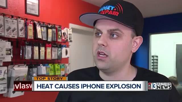iPhone在维修时突然爆炸 气温太高是罪魁祸首