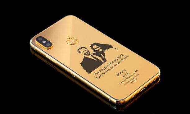 实力蹭热度4000美元iPhone X皇室婚礼限量版考虑下?