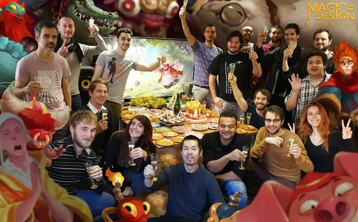 """在法国,这位前育碧boy正在制作一款""""西游记""""题材游戏"""