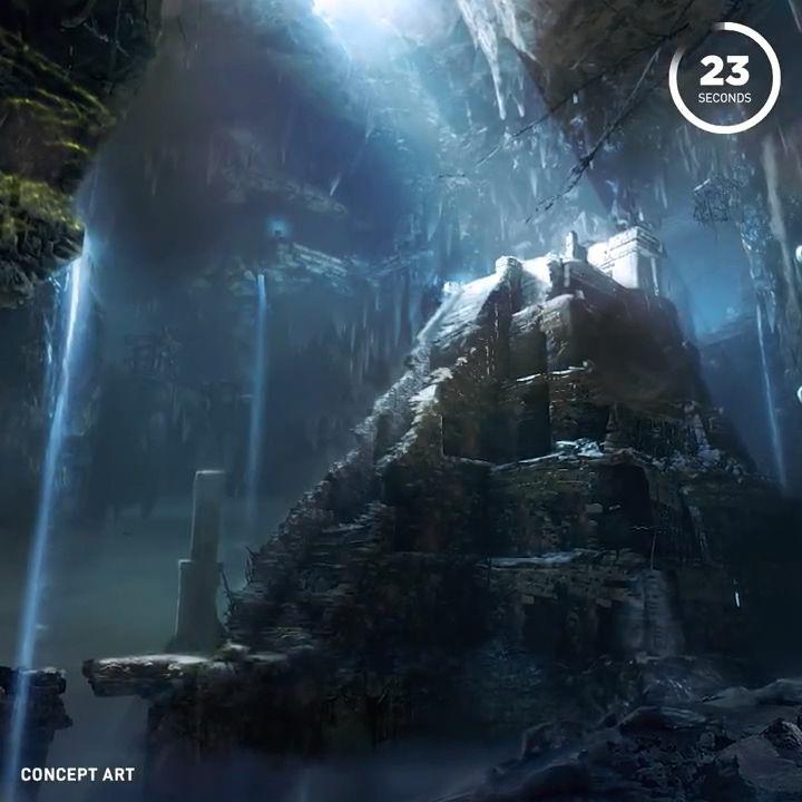 《古墓丽影:暗影》官方公布多张概念图