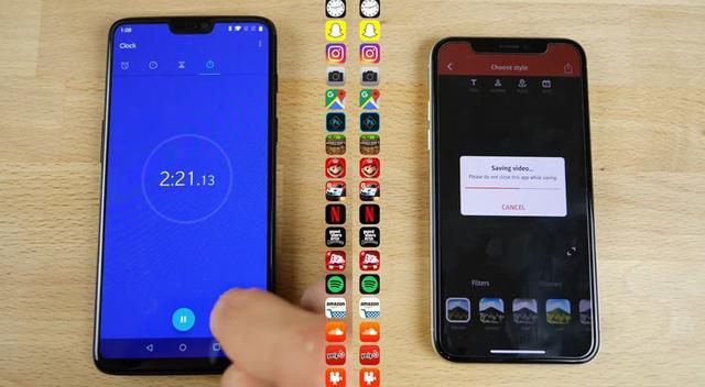 一加6、iPhoneX的性能对比评测