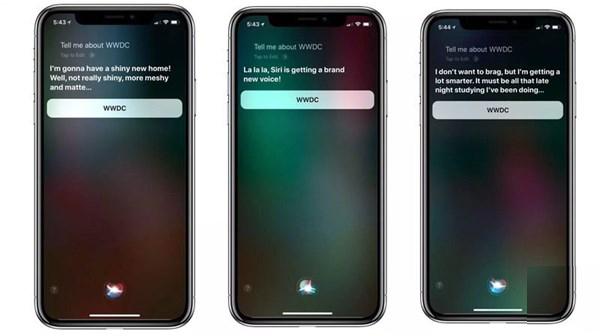 Siri自曝苹果WWDC 2018将发布的新功能?误会