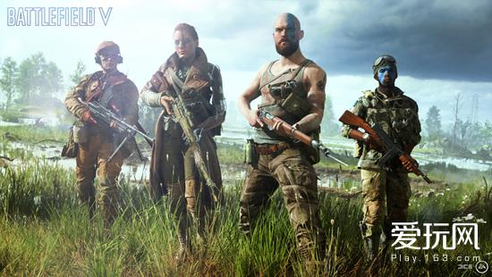 《战地5》确认二战背景 2018年10月19日发售