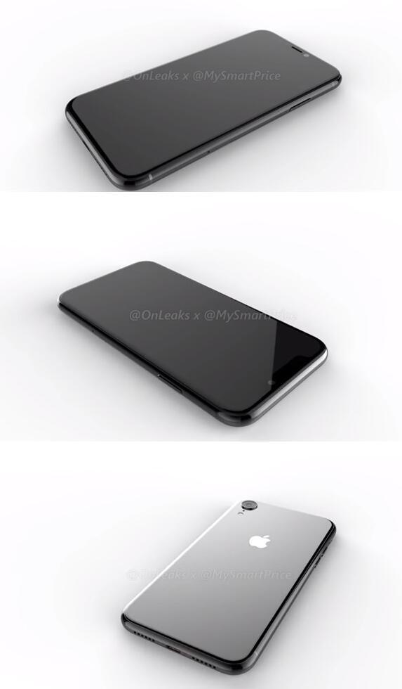 苹果iPhone X Plus与iPhone 9渲染图出炉:6.5英寸 VS 6.1英寸