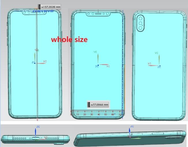 iPhone X Plus疑三摄 LCD款刘海单摄