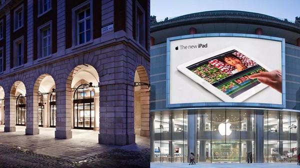 大量Apple Store开始翻修 部分将暂停营业