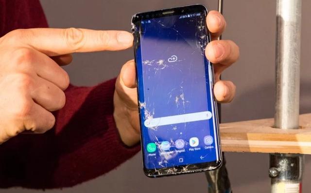 iPhoneX和三星Galaxy S9哪个更硬?屏幕硬度对比测试