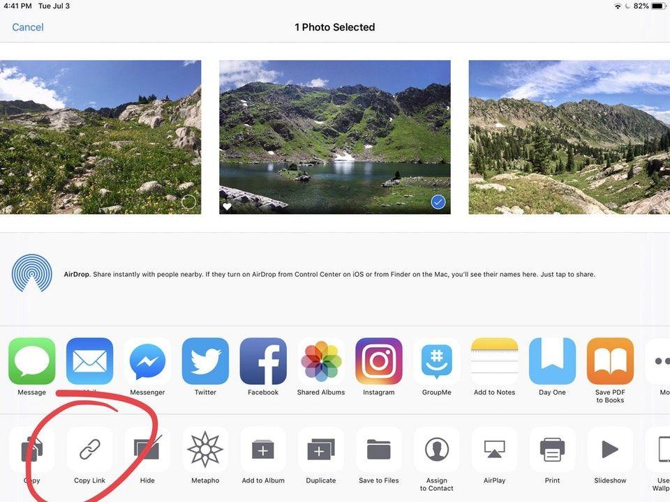 iOS 12可复制照片iCloud链接:分享更容易