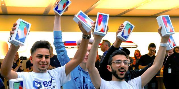 美国新研究:大多数iPhone用户都是高收入人群