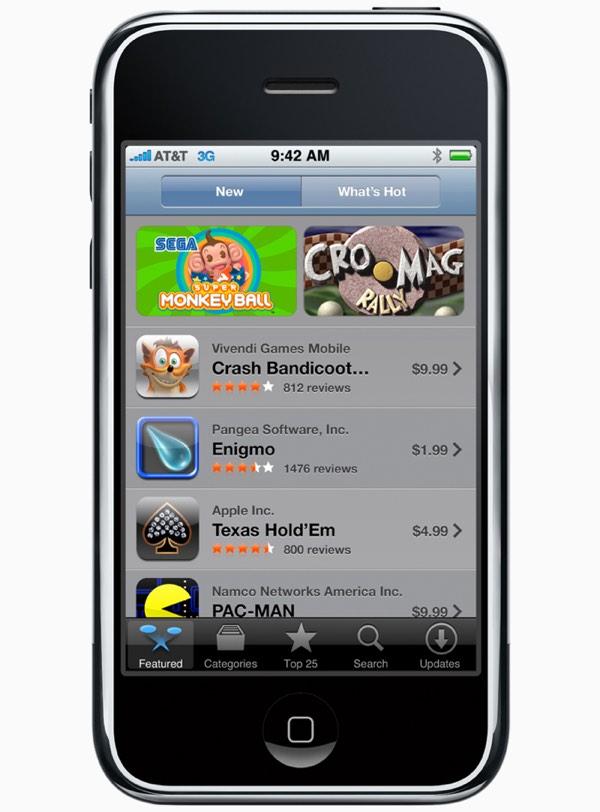 App Store 10周年,你的手机上有多少个App?