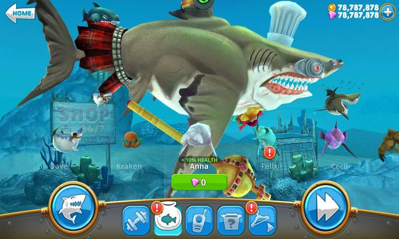 开局一只鲲,进化全靠吞?真实养鲲游戏《饥饿鲨:世界》!