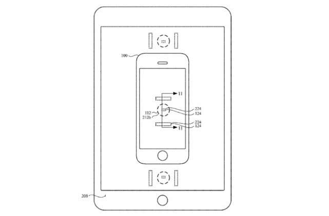 苹果申请新专利:让MacBook给iPhone无线充电