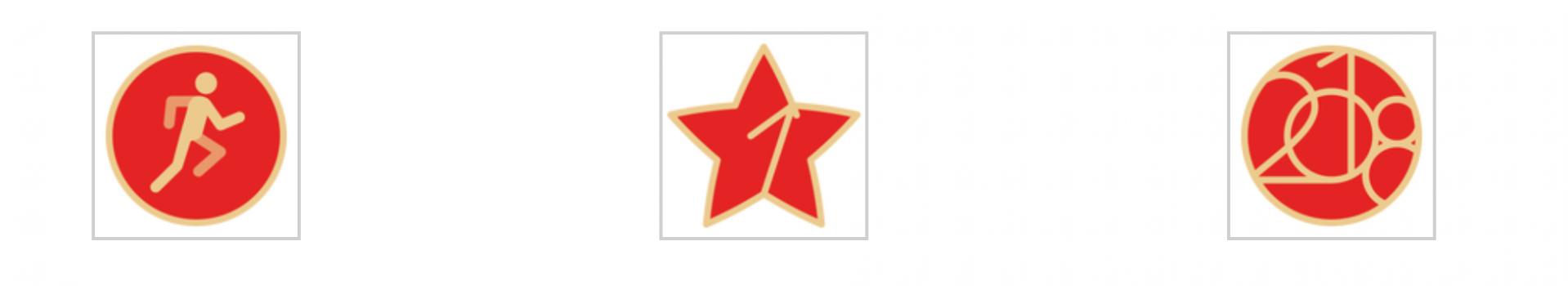 苹果为中国全民健身日推出AW专属徽章