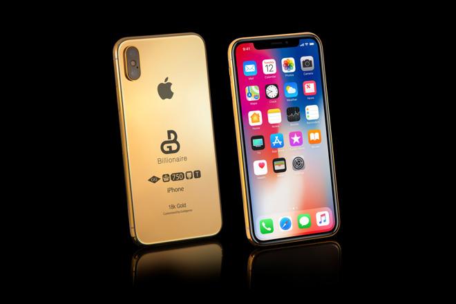 18K镀金款2018 iPhone开订 价格11万美刀