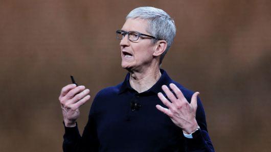 苹果CEO库克向慈善组织捐赠近500万美元股票