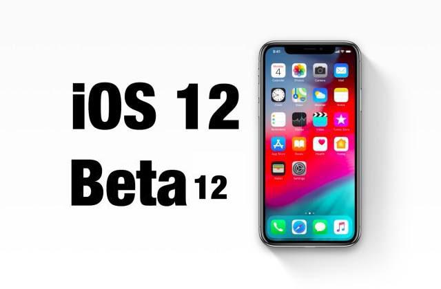 iOS 12 beta 12发布:弹窗问题彻底修复