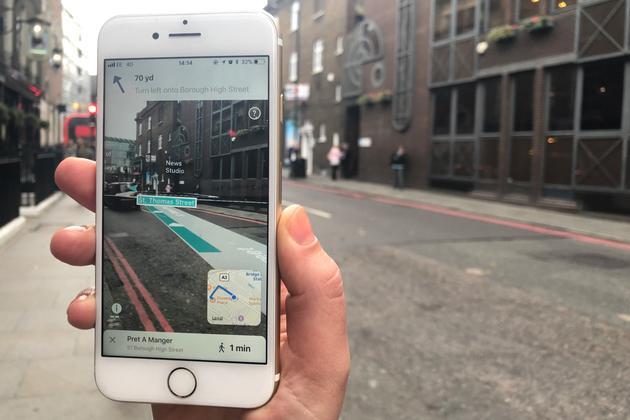 或许很快,你能在iPhone上看到苹果自己做的AR地图
