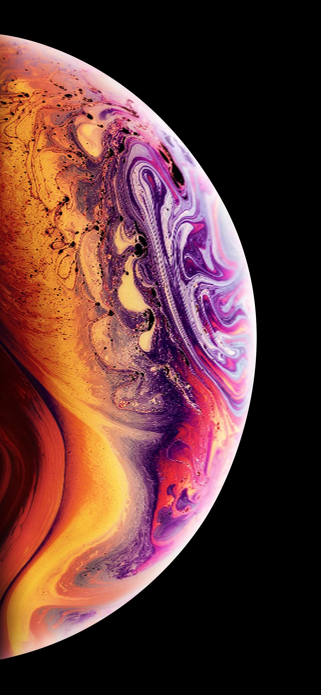 iPhone XS 木星壁纸分享
