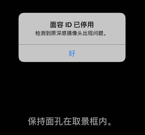"iPhone X 显示""面容ID已停用"",如何解决?"