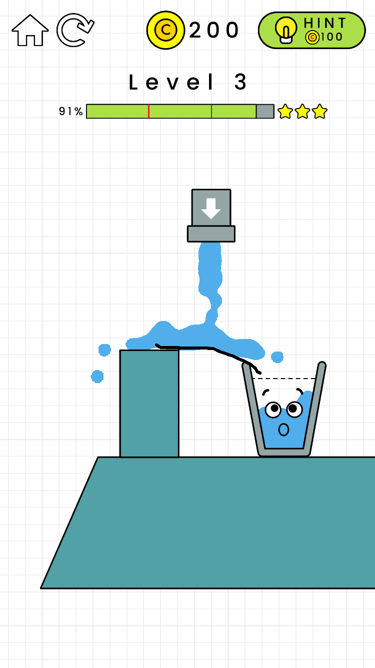 喝杯水都要先学画画 快乐玻璃杯Happy Glass手游试玩