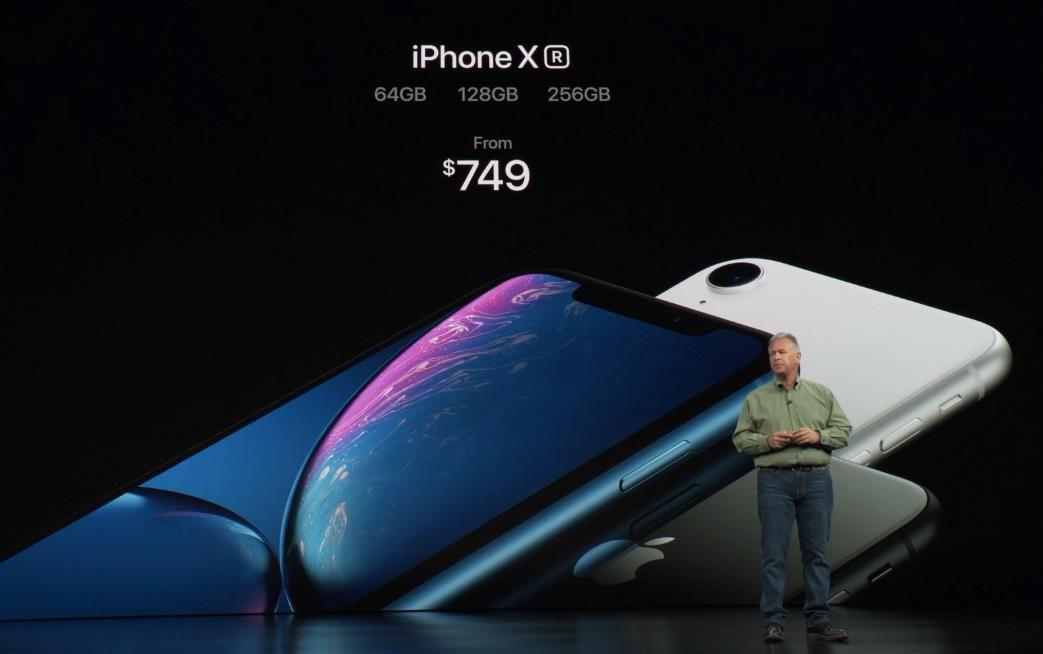 iPhone XR 正式推出:搭载 A12 处理器和最先进的 LCD 全面屏