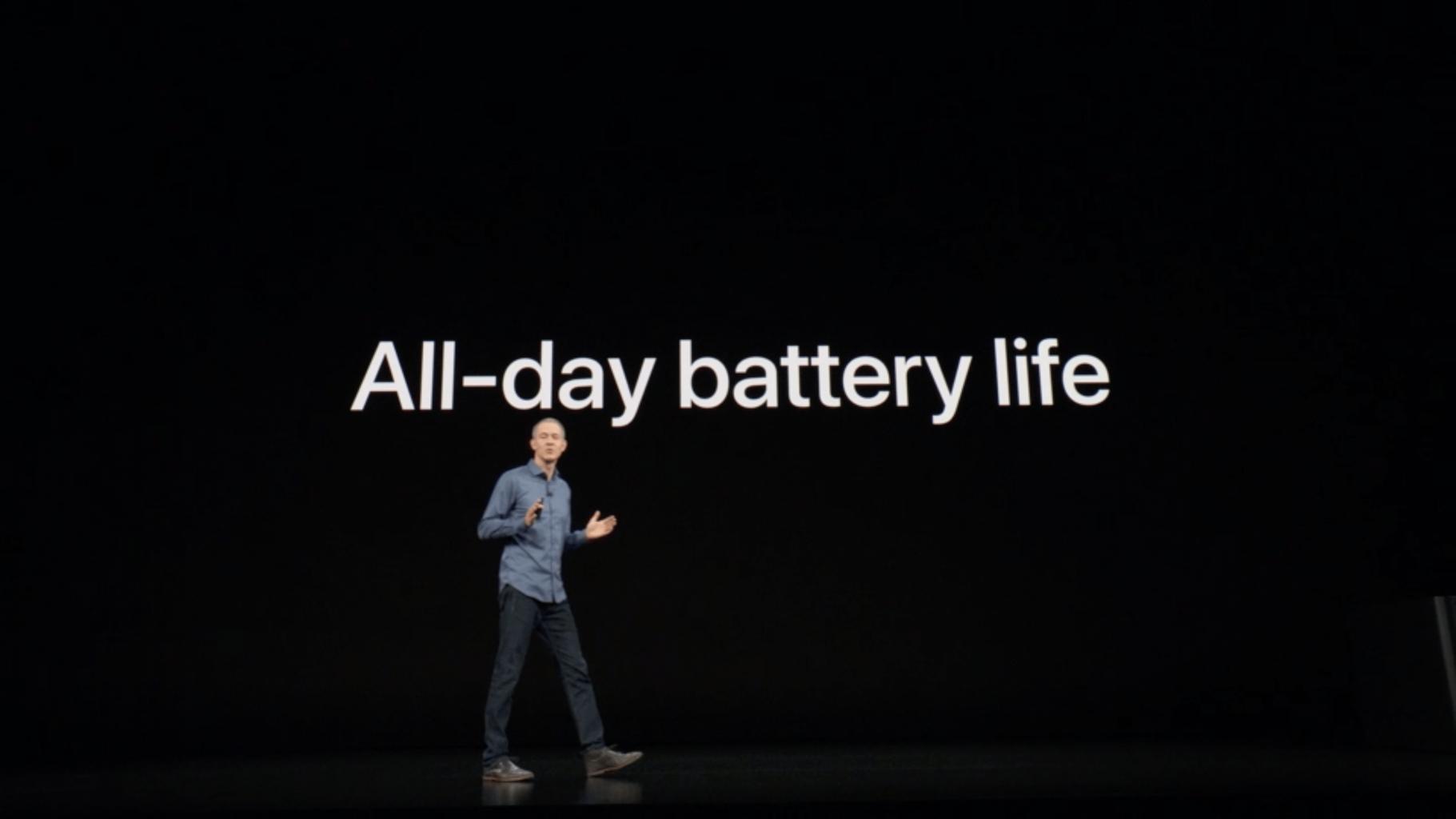 你所关心的问题:iPhone XS和Apple Watch的续航细节