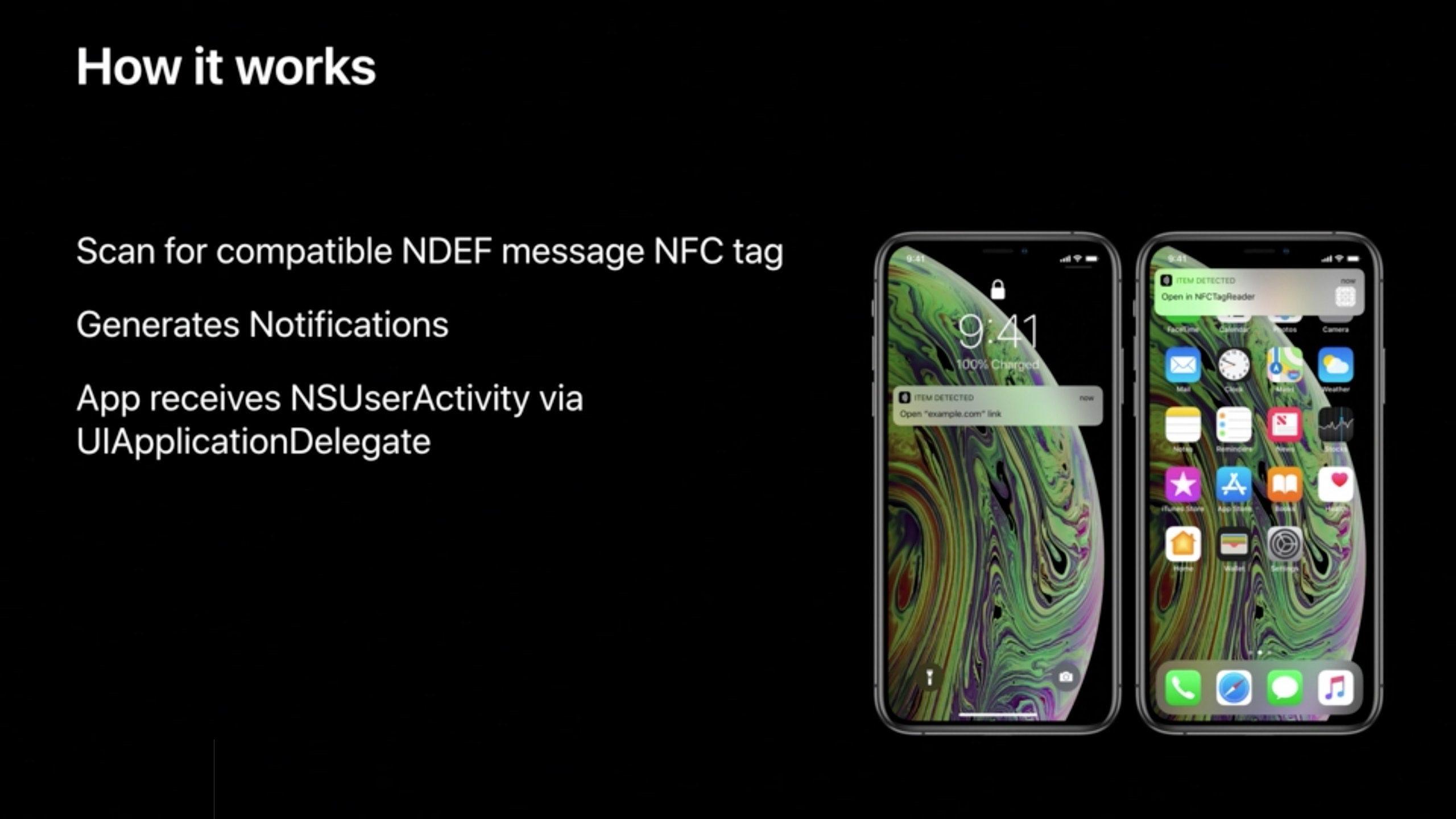 iPhone XS/XR支持后台NFC 无需启动应用